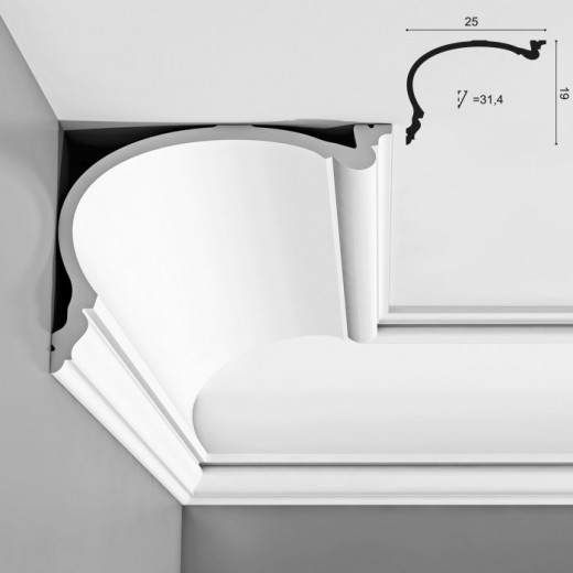 Карниз Orac decor - Luxxus (25х19х200 см), Артикул  C343