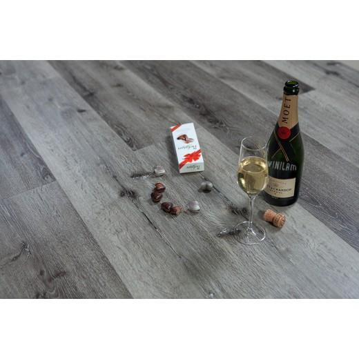 Виниловый ламинат Vinilam - Гибрид + Пробка Дуб Ипр, Арт. 10-066