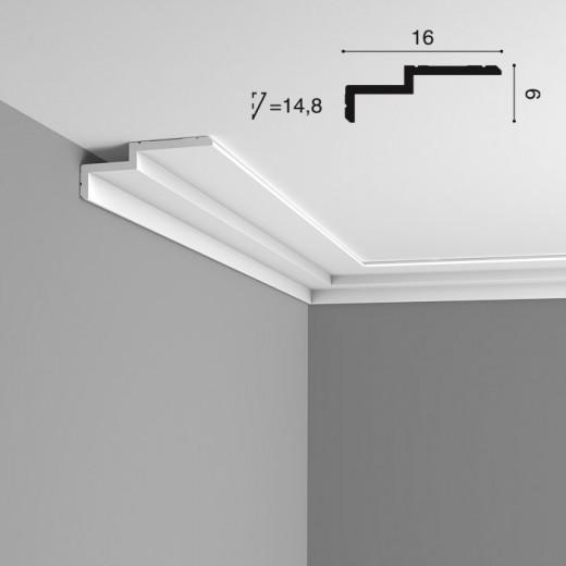 Карниз Orac decor - Modern (16х6х200 см), Артикул  C391