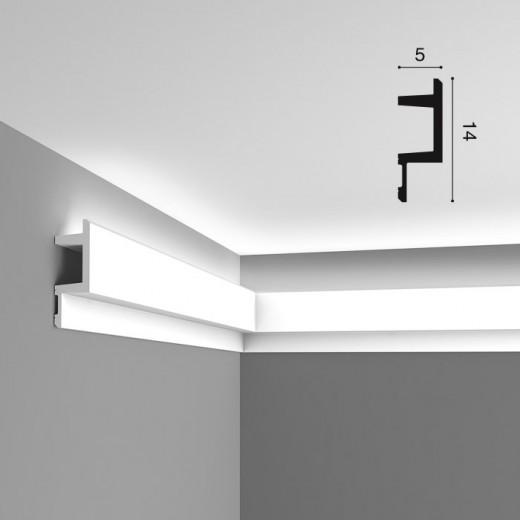 Карниз Orac decor - Modern (5х14х200 см), Артикул  C383