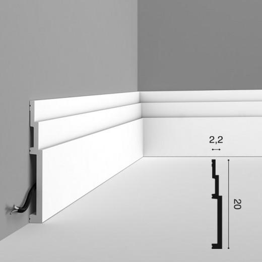 Карниз Orac decor - Modern (2,2х20х200 см), Артикул  SX181