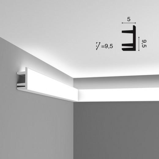 Карниз Orac decor - Modern (5х9,5х200 см), Артикул  C381