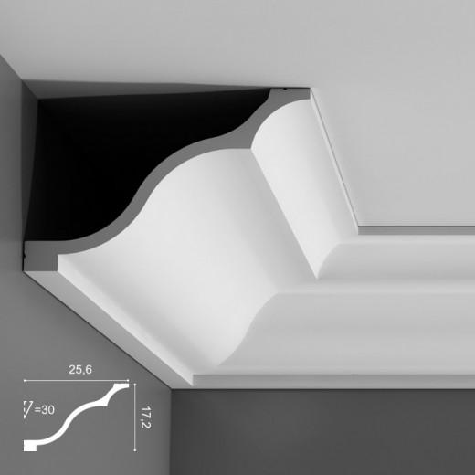 Карниз Orac decor - Luxxus (17,2х25,6х200 см), Артикул  C337