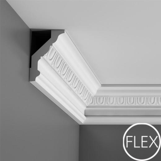 Карниз Orac decor - Luxxus (8,5х12,8х200 см), Гибкий, Артикул  C302F