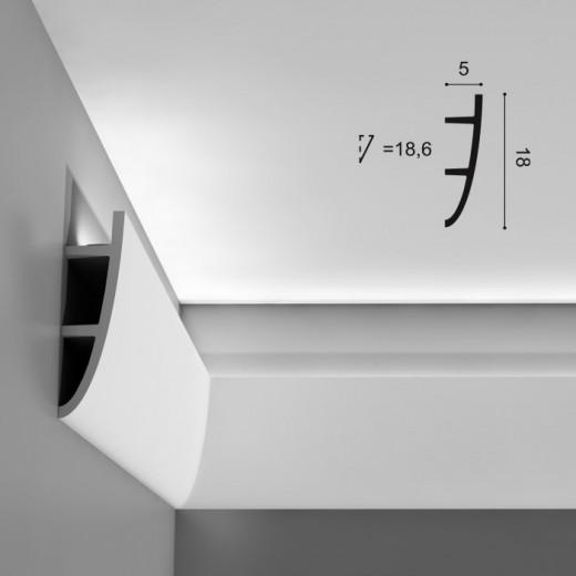 Карниз Orac decor - Ulf Moritz (5х18х200 см), Артикул  C374