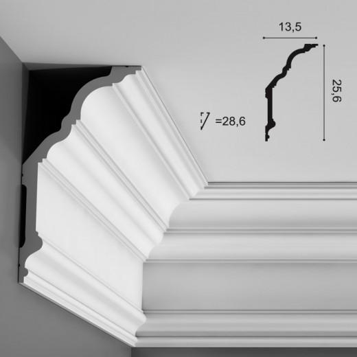 Карниз Orac decor - Luxxus (13,5х25,6х200 см), Артикул  C340