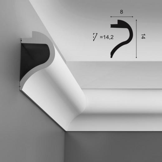 Карниз Orac decor - Luxxus (8х14х200 см), Артикул  C364