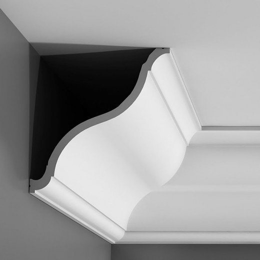 Карниз Orac decor - Luxxus (20,2х22,2х200 см), Артикул  C335