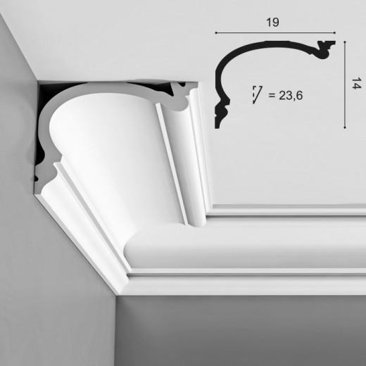 Карниз Orac decor - Luxxus (19х14х200 см), Артикул  C342