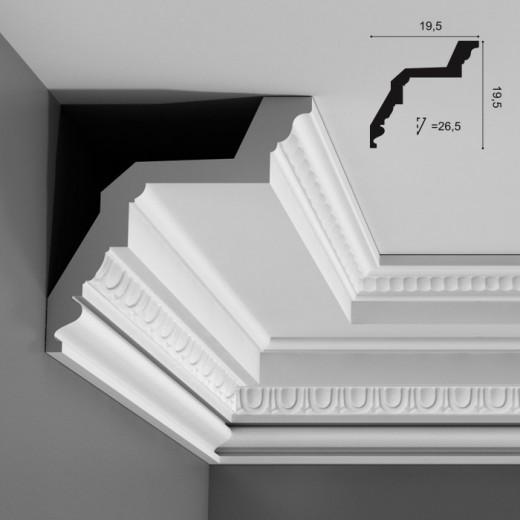 Карниз Orac decor - Luxxus (19,5х19,5х200 см), Артикул  C307
