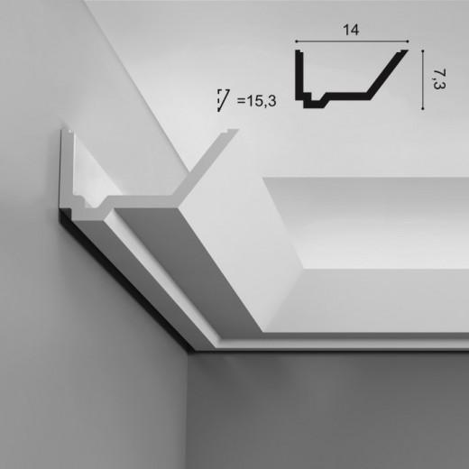 Карниз Orac decor - Luxxus (14х7,3х200 см), Артикул  C358