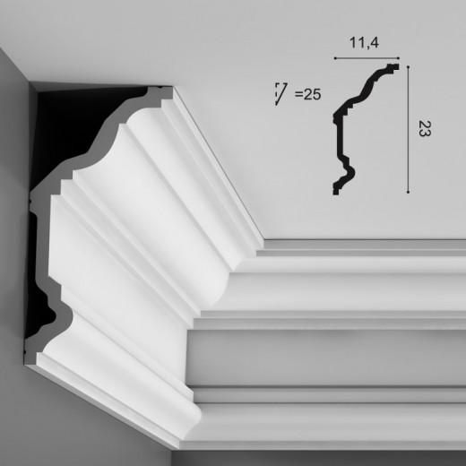 Карниз Orac decor - Luxxus (11,4х23х200 см), Артикул  C332