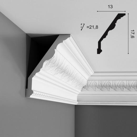 Карниз Orac decor - Luxxus (13х17,6х200 см), Артикул  C219