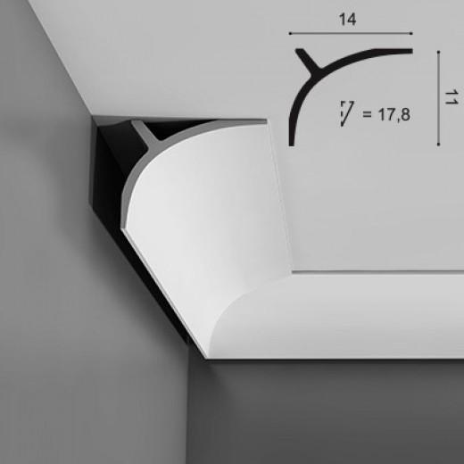 Карниз Orac decor - Ulf Moritz (14х11х200 см), Артикул  C991