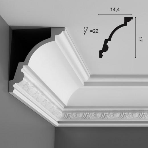 Карниз Orac decor - Luxxus (14,4х17х200 см), Артикул  C301