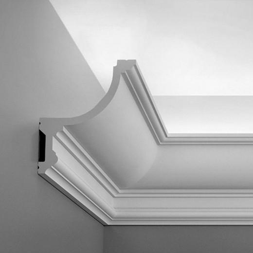 Карниз Orac decor - Luxxus (12,4х15,2х200 см), Артикул  C901