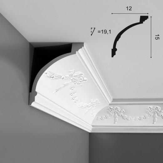 Карниз Orac decor - Luxxus (12х15х200 см), Артикул  C218
