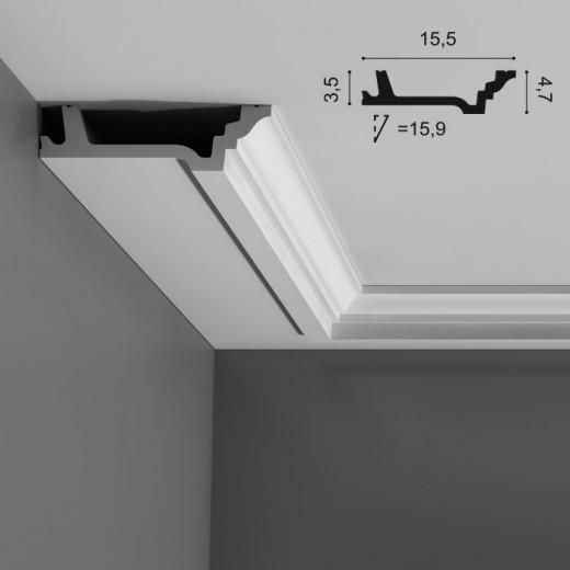 Карниз Orac decor - Luxxus (15,5х4,7х200 см), Артикул  C305