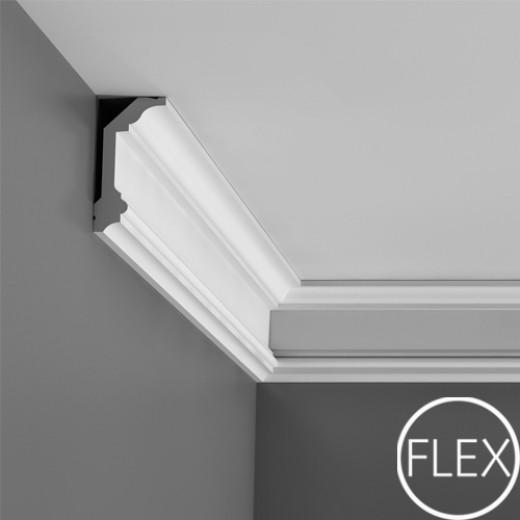 Карниз Orac decor - Luxxus (5х9,9х200 см), Гибкий, Артикул  C321F