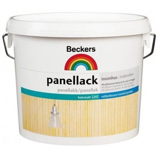 Лак Beckers Panellack 20 (полуматовая), 2,7 л