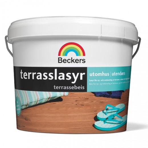 Пропитка Beckers Terrasslasyr 35 (полуглянцевая), 2,7 л
