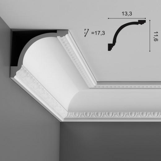 Карниз Orac decor - Luxxus (13,3х11,6х200 см), Артикул  C216
