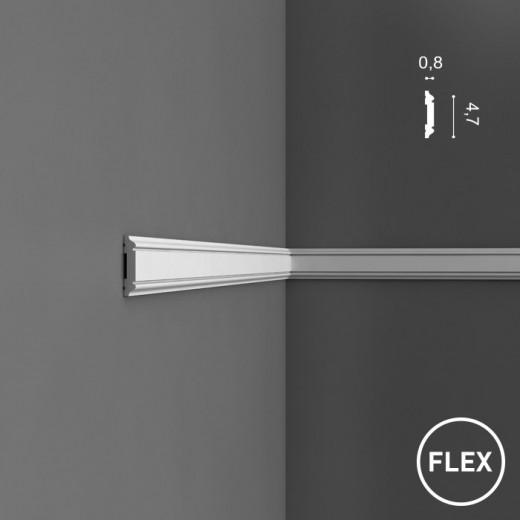 Молдинг Orac decor - Axxent (0,8х4,7х200 см), Гибкий, Артикул  PX144F
