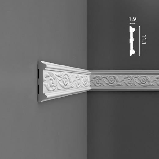 Молдинг Orac decor - Luxxus (1,9х11,1х200 см), Артикул  P7020
