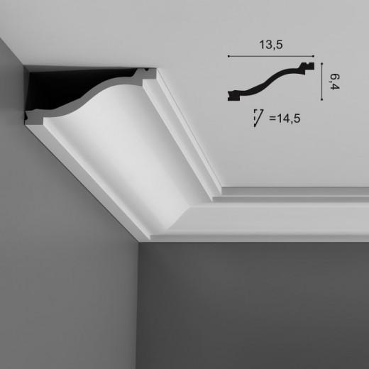 Карниз Orac decor - Luxxus (13,5х6,4х200 см), Артикул  C331