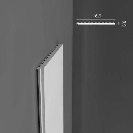 Молдинг Orac decor - Axxent (1х16,9х200 см), Артикул  PX147