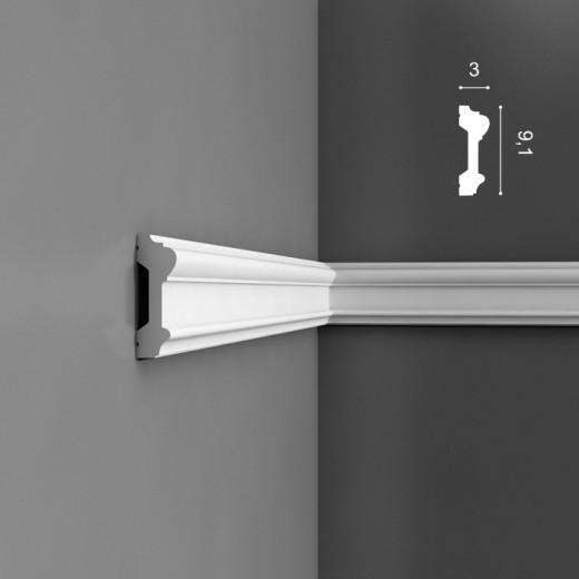 Молдинг Orac decor - Luxxus (3х9,1х200 см), Артикул  P9010