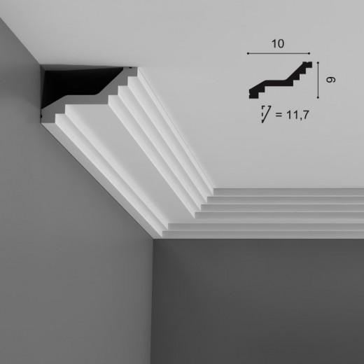 Карниз Orac decor - Luxxus (10х6х200 см), Артикул  C400