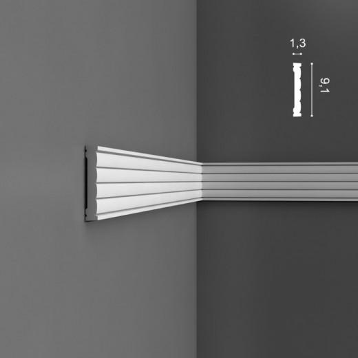 Молдинг Orac decor - Luxxus (1,3х9,1х200 см), Артикул  P5020