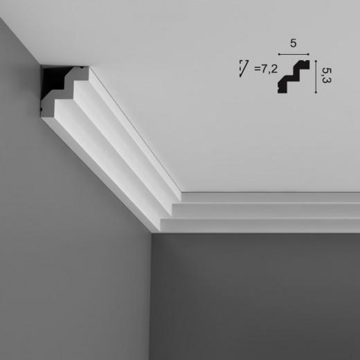 Карниз Orac decor - Luxxus (5х5,3х200 см), Артикул  C602