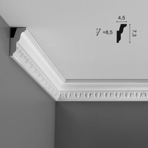 Карниз Orac decor - Luxxus (4,5х7,3х200 см), Артикул  C212