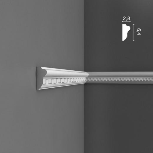 Молдинг Orac decor - Luxxus (2,8х6,4х200 см), Артикул  P6020
