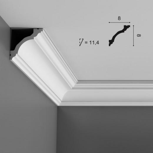 Карниз Orac decor - Luxxus (8х8х200 см), Артикул  C213