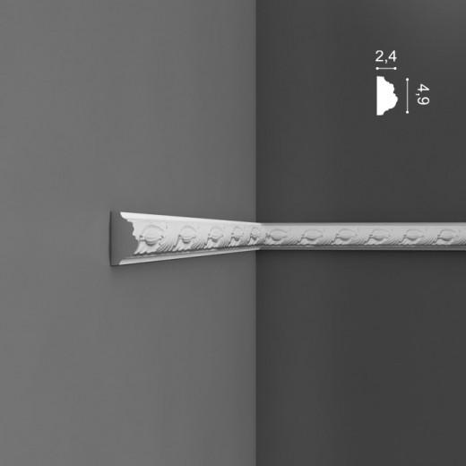 Молдинг Orac decor - Luxxus (2,4х4,9х200 см), Артикул  P1020