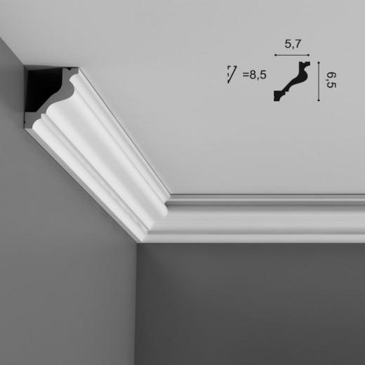 Карниз Orac decor - Luxxus (5,7х6,5х200 см), Артикул  C200