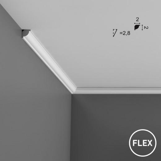 Карниз Orac decor - Axxent (2х2х200 см), Гибкий, Артикул  CX132F