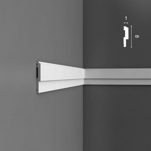 Молдинг Orac decor - Luxxus (1х8х200 см), Артикул  P9900