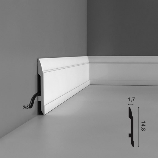 Плинтус Orac decor - Axxent (1,7х14,8х200 см), Артикул  SX104