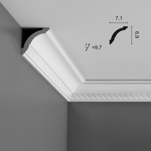 Карниз Orac decor - Axxent (7,1х6,9х200 см), Артикул  CX136