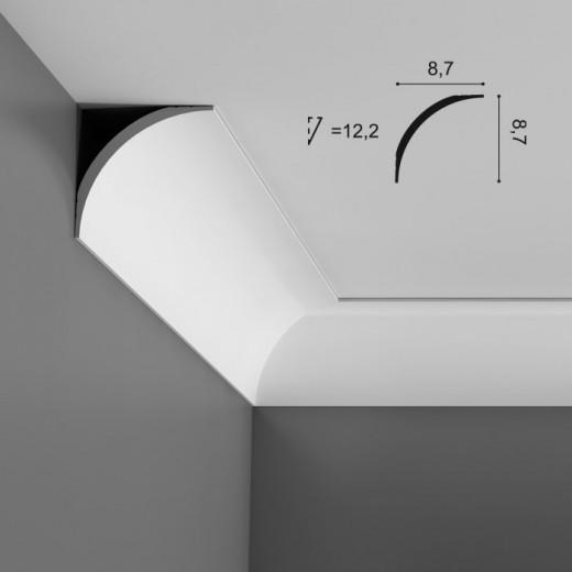 Карниз Orac decor - Axxent (8,7х8,7х200 см), Артикул  CX126