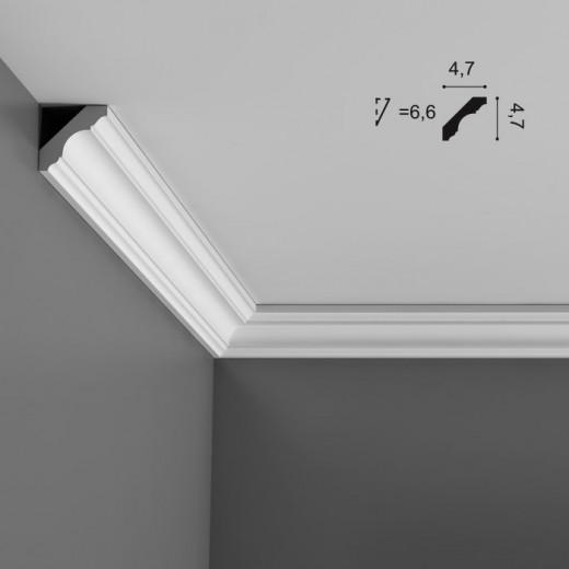 Карниз Orac decor - Luxxus (4,7х4,7х200 см), Артикул  C215