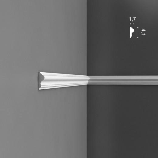 Молдинг Orac decor - Luxxus (1,7х4,1х200 см), Артикул  P8030