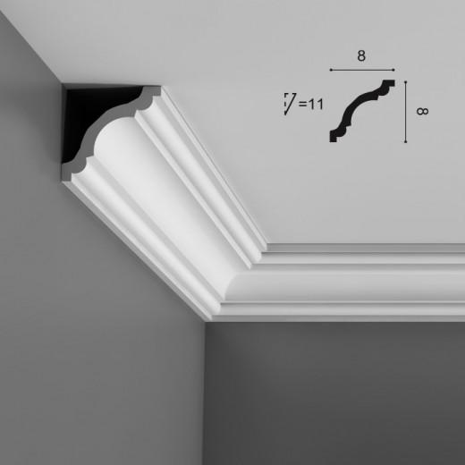 Карниз Orac decor - Axxent (8х8х200 см), Артикул  CX123