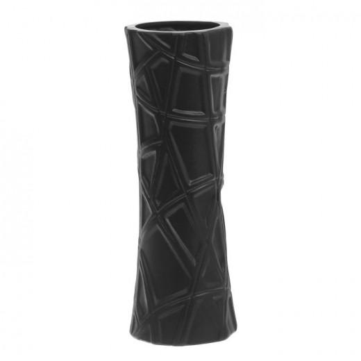 Ваза настольная (керамика), Цвет черный, Арт. 7665