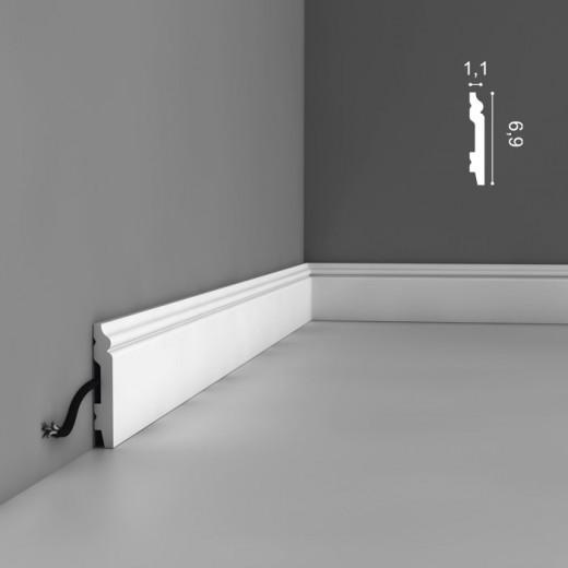 Плинтус Orac decor - Axxent (1,1х6,9х200 см), Артикул  SX165