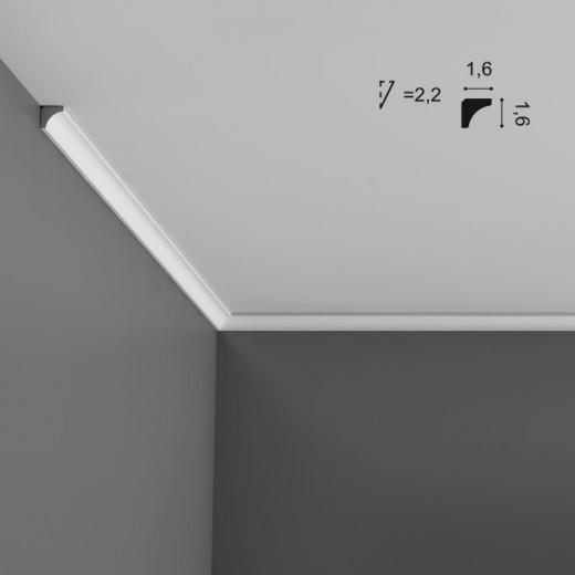 Карниз Orac decor - Luxxus (1,6х1,6х200 см), Артикул  C250
